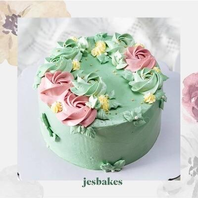 Signature Floral Cakes