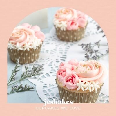 Signature Floral Cupcakes