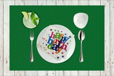 Happy Birthday Paper Napkin 13x13 - (Pack of 20)
