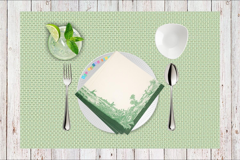 Farming Print Paper Napkin - (Pack of 20)