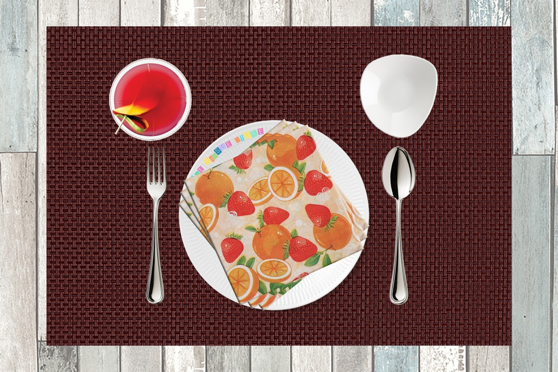 Fruit Print Paper Napkin - (Pack of 20)
