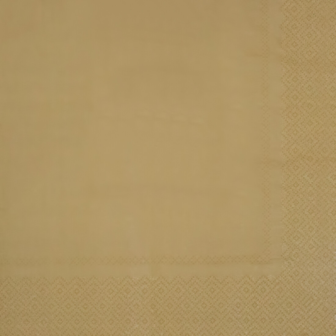 Brown/Gold Paper Napkin - (Pack of 20)