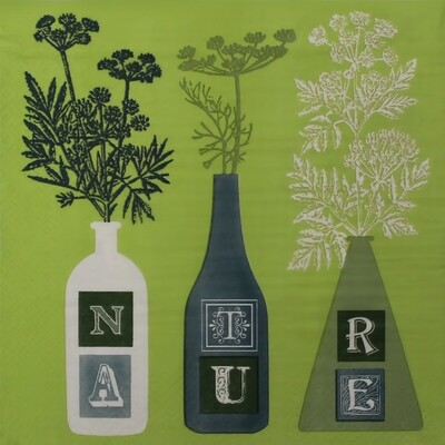 Nature Tree Print Paper Napkin 16x16- (Pack of 20)