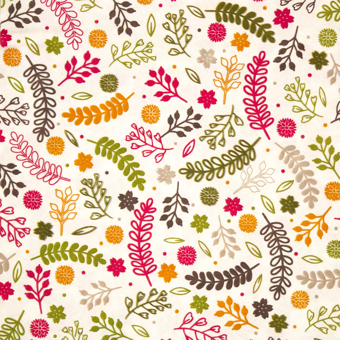 Leaves Print Paper Napkin 16x16- (Pack of 20)