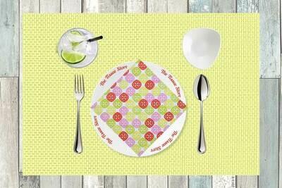 Pattern Design Multicolour Paper Napkin 13x13 - (Pack of 20)