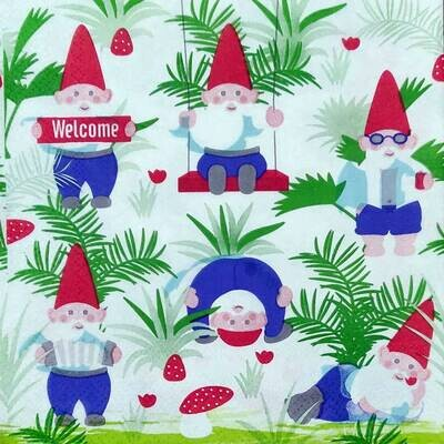 Christmas Print Paper Napkin 13x13 - (Pack of 20)