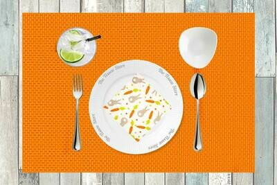 Breakfast / Cocktail Paper Napkin -Bunny & Carrot  Print - (Pack of 20)