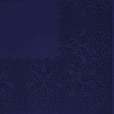 Deep Blue Selfprint Paper Napkin 16x16 - (Pack of 20)