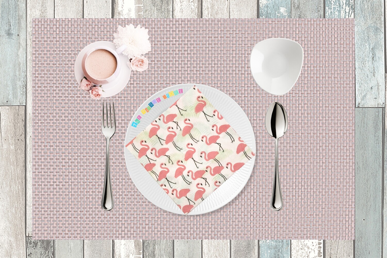 Flamingo Paper Napkin 13x13 - (Pack of 20)