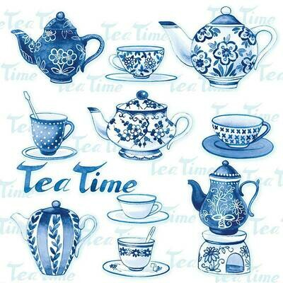 Decoupage Paper Napkins - Tea Moments 13x13 (1 Sheet)