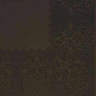 Dark Brown Selfprint Paper Napkin 16x16 - (Pack of 20)