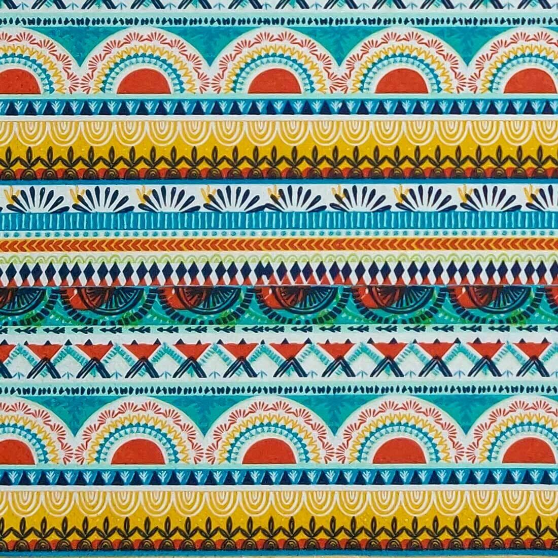 Decoupage Paper Napkins - Manda Terracota (1 Sheet)