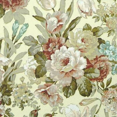Decoupage Paper Napkins -Floral Cream (1 Sheet)