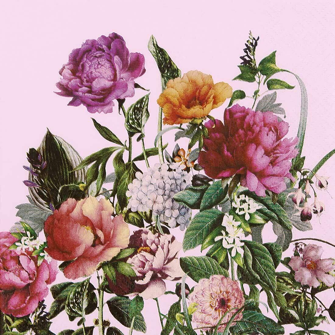 Decoupage Paper Napkins - Floral - Bloom (1 Sheet)