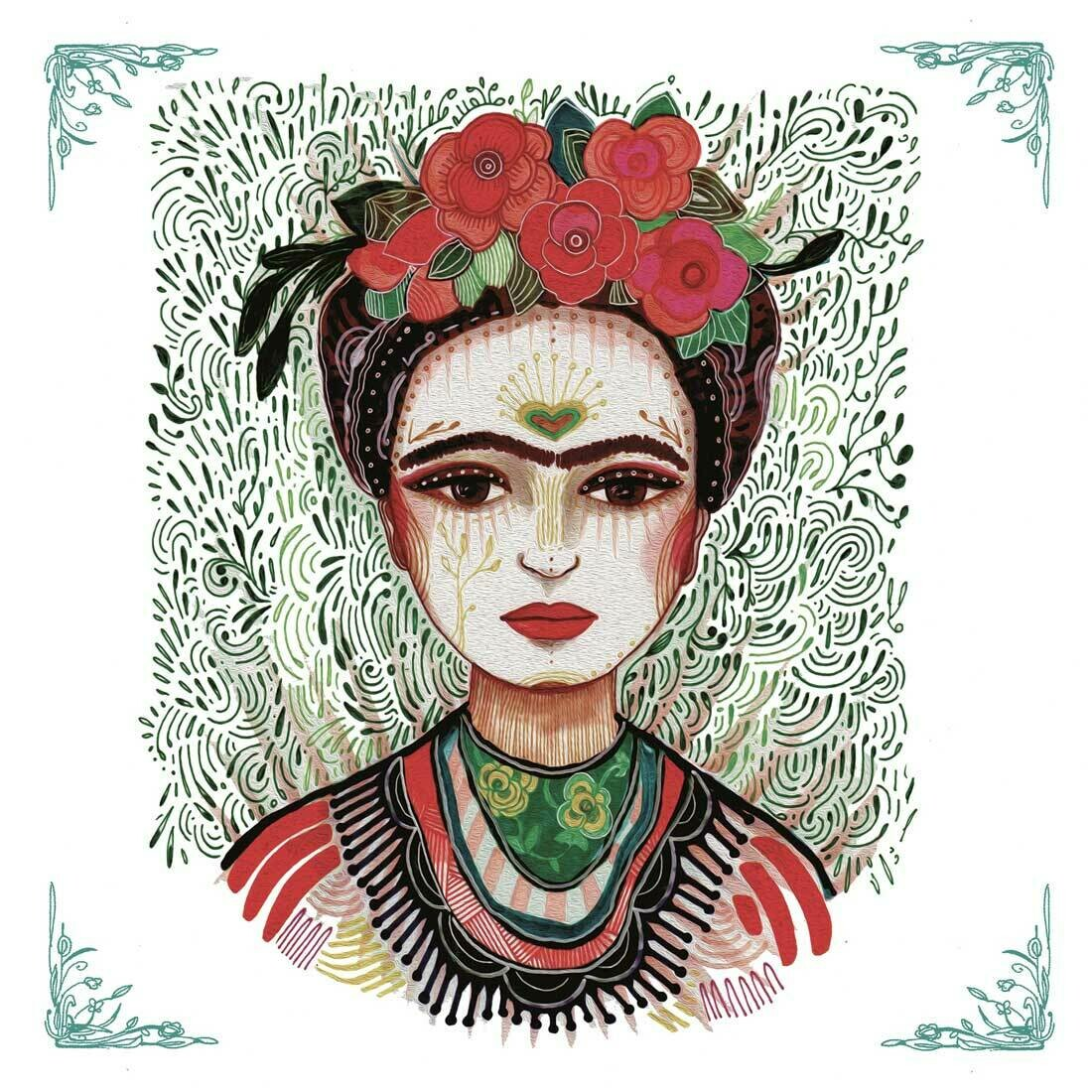 Decoupage Paper Napkins - Frida (1 Sheet)