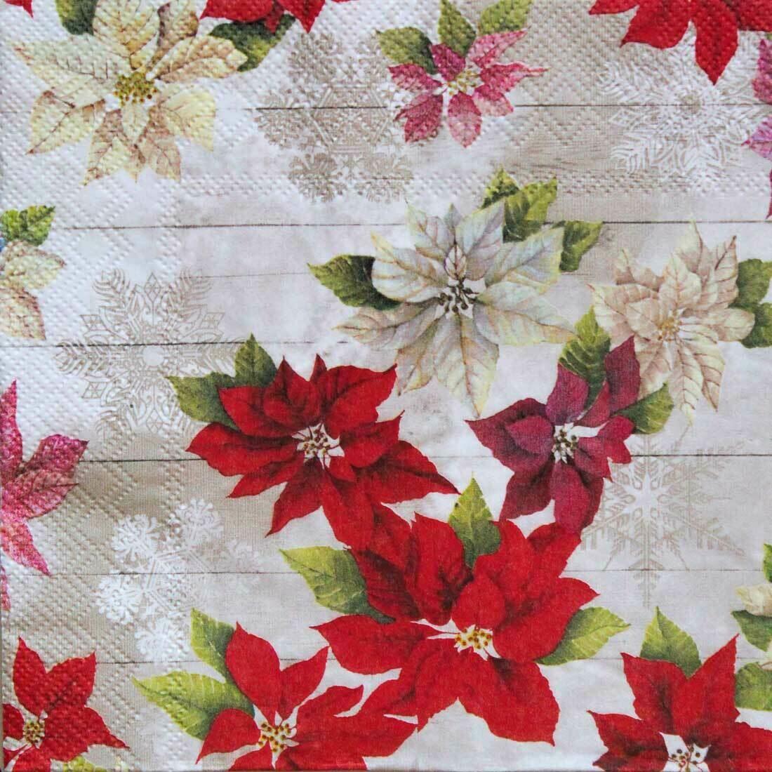 Decoupage Paper Napkins - Floral - Sally 13x13 (1 Sheet)