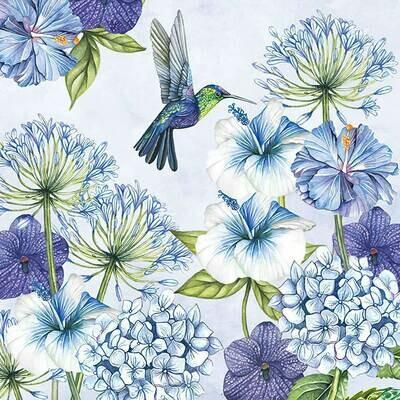 Decoupage Paper Napkins - Bird - Hummingbird (1 Sheet)