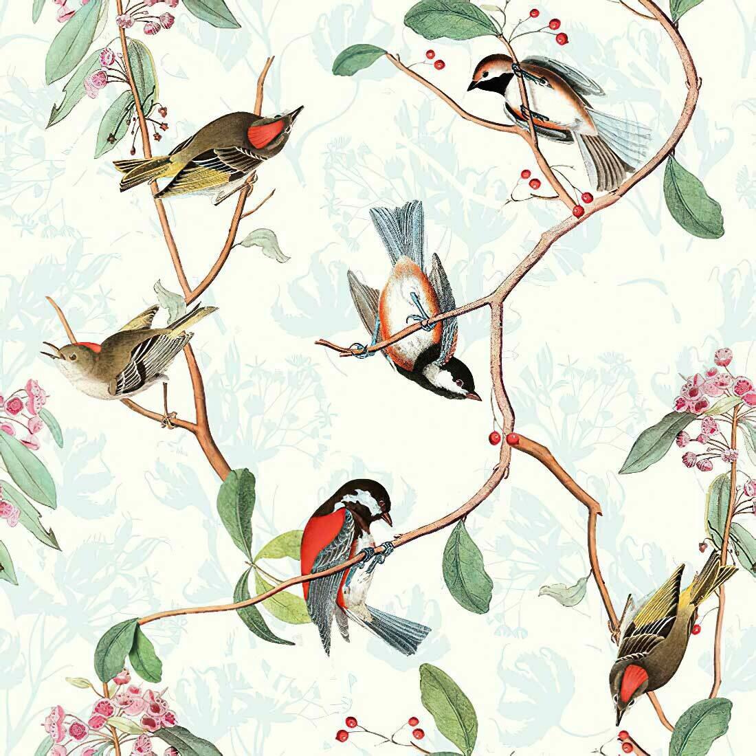 Decoupage Paper Napkins - Bird - Birdsong (1 Sheet)