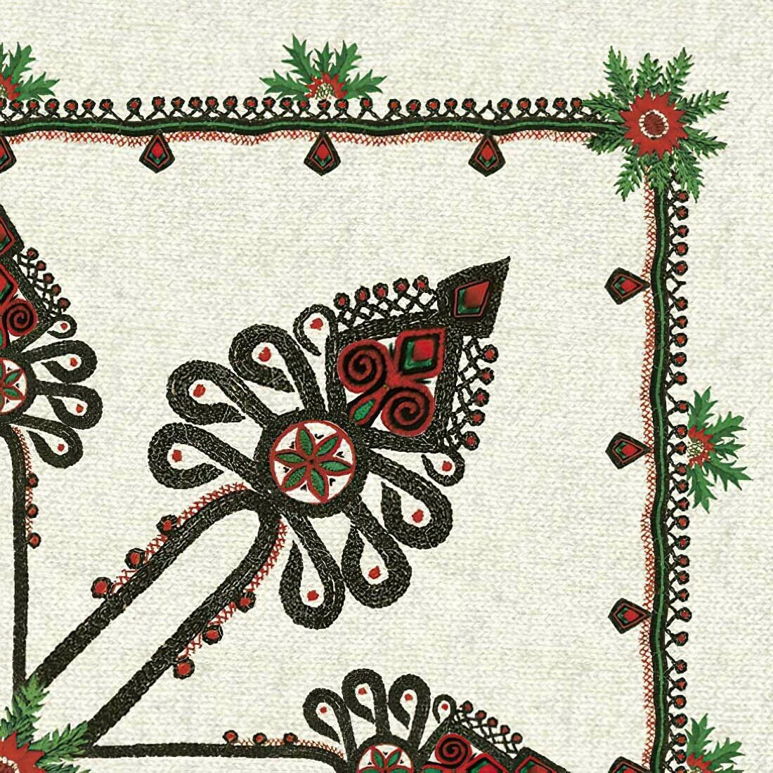 Decoupage Paper Napkins - Parzenica Pattern (1 Sheet)