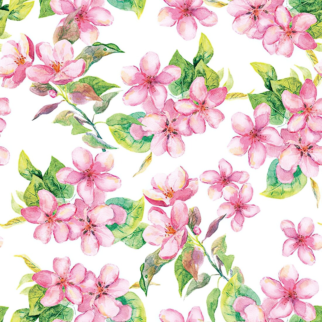 Decoupage Paper Napkins - Floral - Cherry Blossom (1 Sheet)