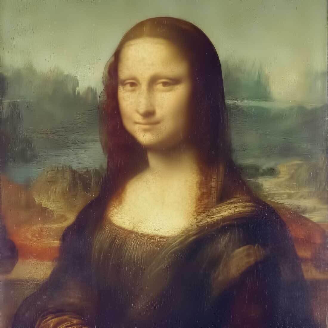 Decoupage Paper Napkins - Vintage - Mona Lisa (1 Sheet)