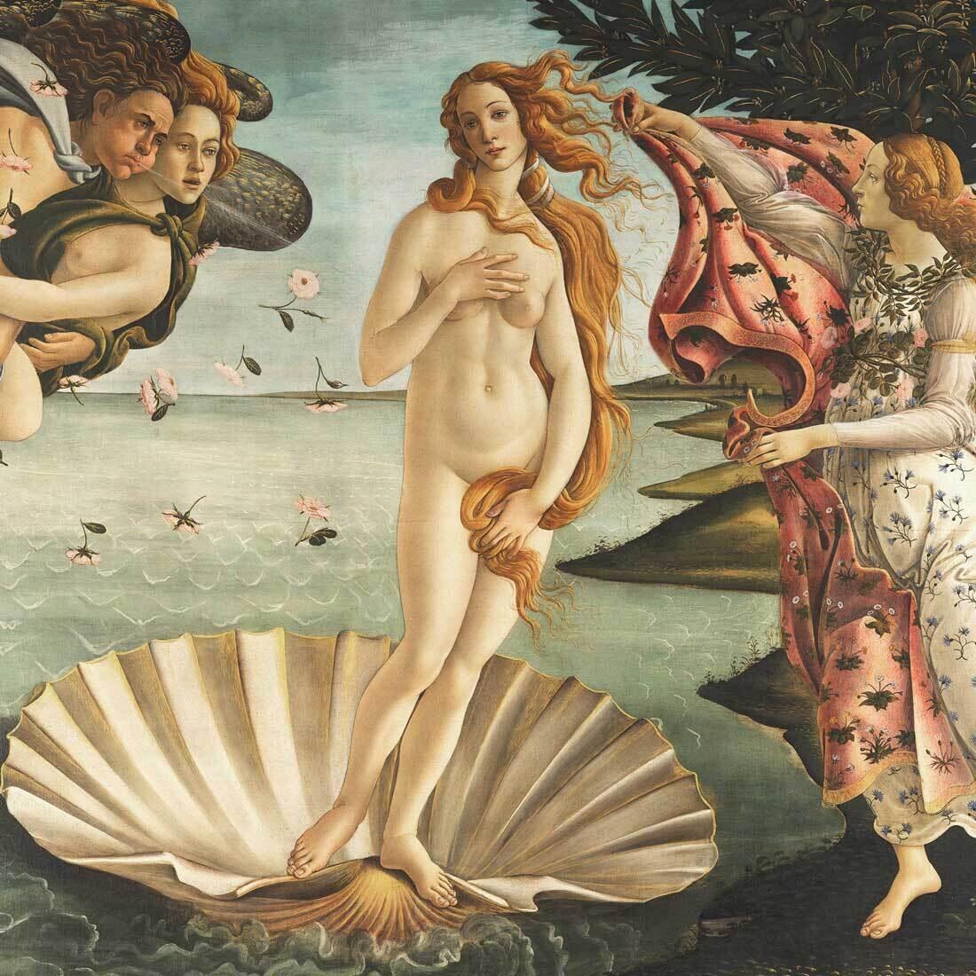 Decoupage Paper Napkins - Vintage - Birth Of Venus (1 Sheet)