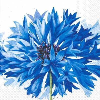 Decoupage Paper Napkins - Floral - Sora (1 Sheet)