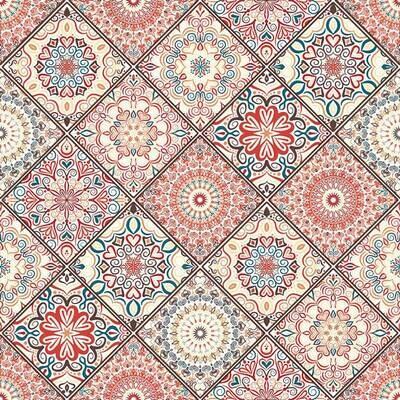 Decoupage Paper Napkins - Pattern - Mandala Boho Chic Style (1 Sheet)
