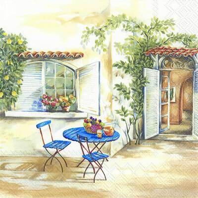 Decoupage Paper Napkins - Outdoor/Scenic - Toscana Feeling (1 Sheet)