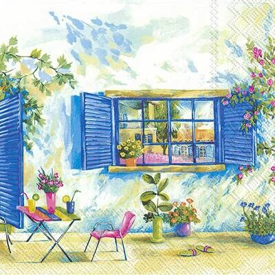 Decoupage Paper Napkins - Outdoor/Scenic - Toscana Holiday (1 Sheet)