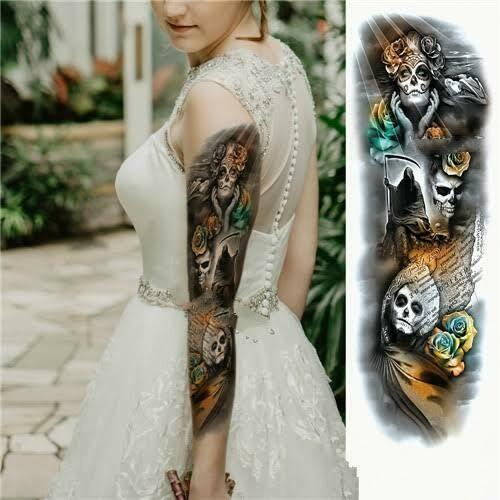 Tattoo Sticker Shop -  Amazing Zues