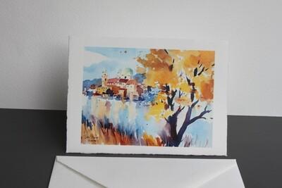 Klappkarte Passau mit Kuvert