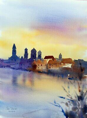 Morgenstimmung in Passau