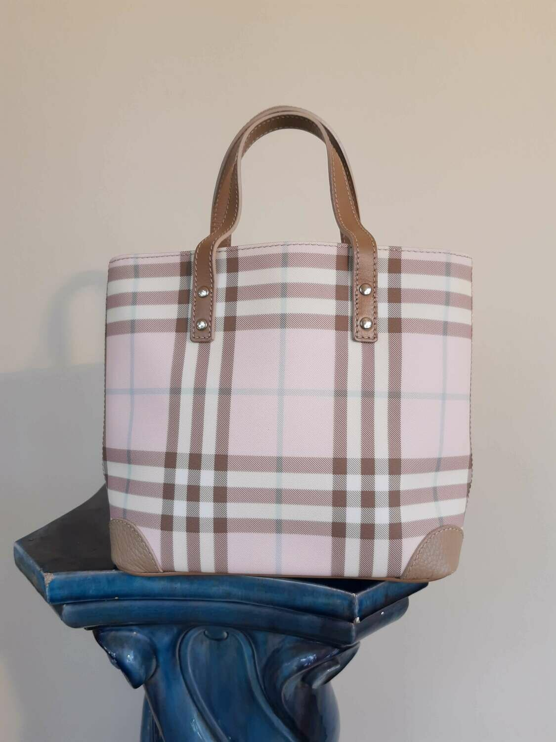 Burberry - Pink Nova Bag