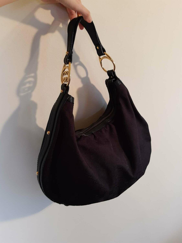 Gucci - Hobo monogram bag