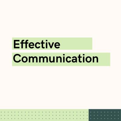 Effective Communication Live Webinar (1 HR)
