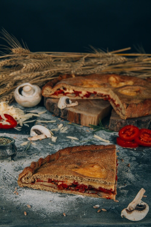 Пицца Грибная с моцареллой