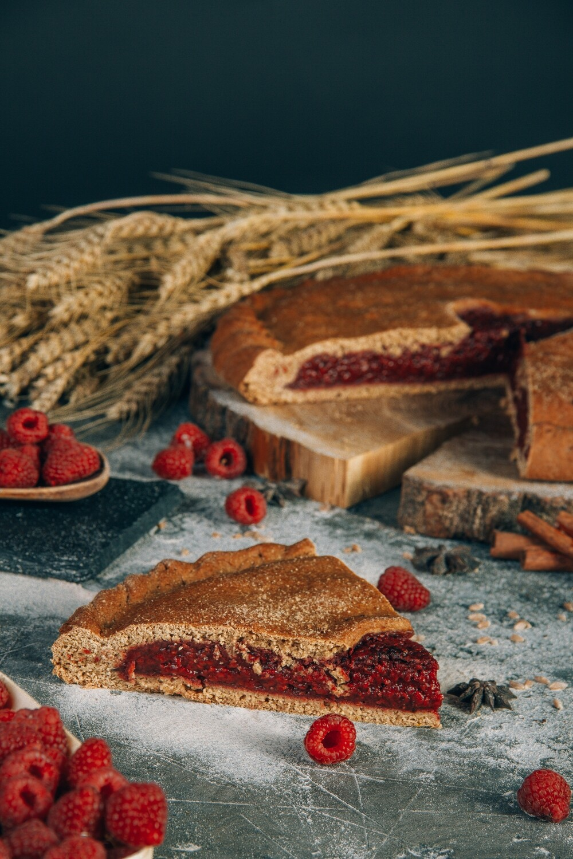 Пирог Малиновый