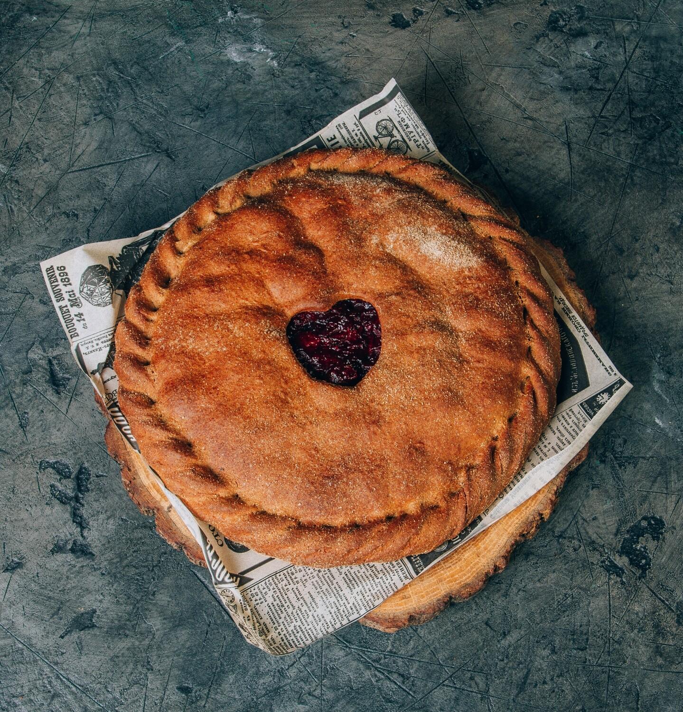 Пирог лесные ягоды ассорти