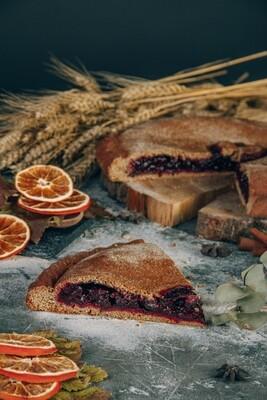 Пирог Черная смородина с апельсиновой цедрой