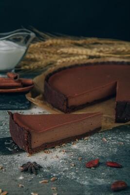 Чизкейк веганский Шоколадный