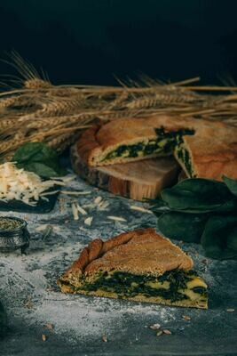 Пирог Шпинат с сулугуни