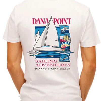 Dana Point Charters White T-shirt