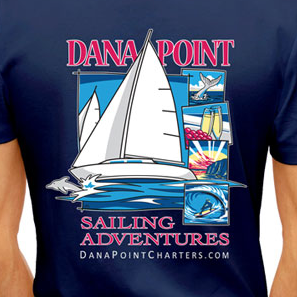 Dana Point Charters - Navy T-Shirt