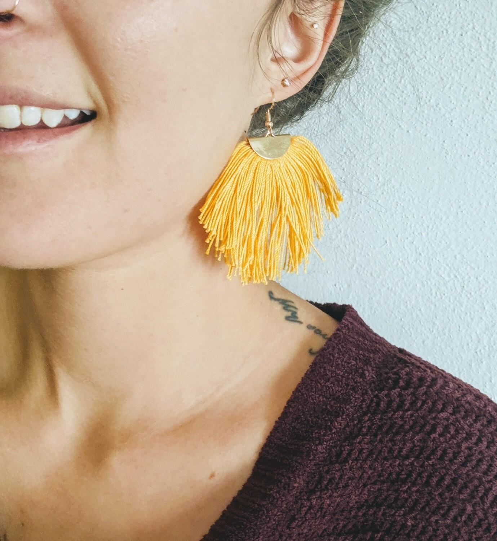 Tassel Earrings // 4 styles