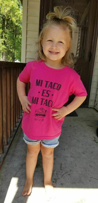 """Kid's """"Mi Taco"""" T-Shirt"""