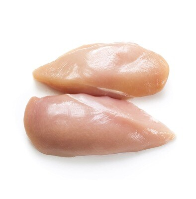 Frozen 4-10lb Case chicken boneless skinless Breasts