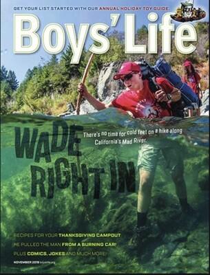 2020 - 2021 Boys Life Subscription