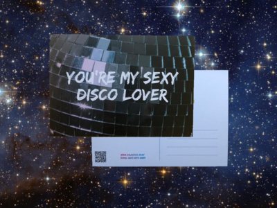 Postcard #5: You're My Sexy Disco Lover