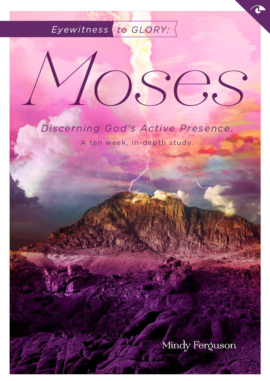 Eyewitness to Glory: Moses - Workbook